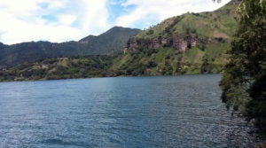 Laguna de san Marcos en Cayambe