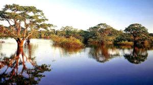 Laguna imuya en sucumbios