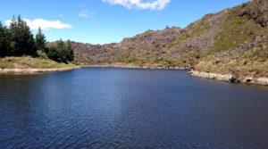 Laguna tipopugro en Pintag