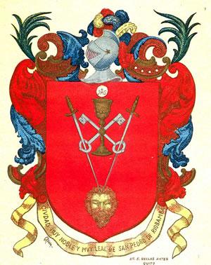 Riobamba escudo de armas