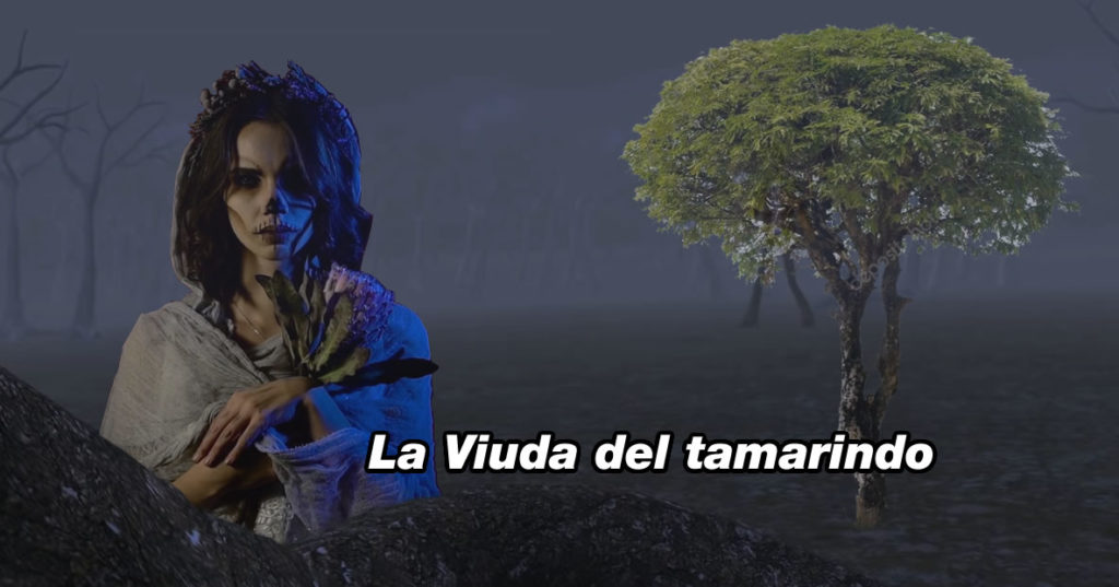 leyenda La viuda del tamarindo