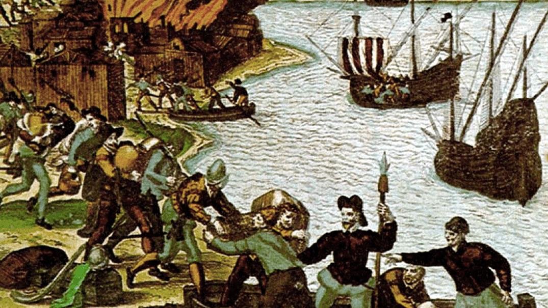 Piratas en guayaquil leyenda del niño de la mano negra