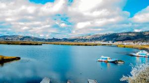 Foto laguna de Colta