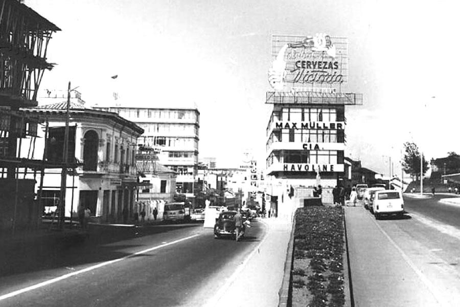Quito antiguo la Alameda