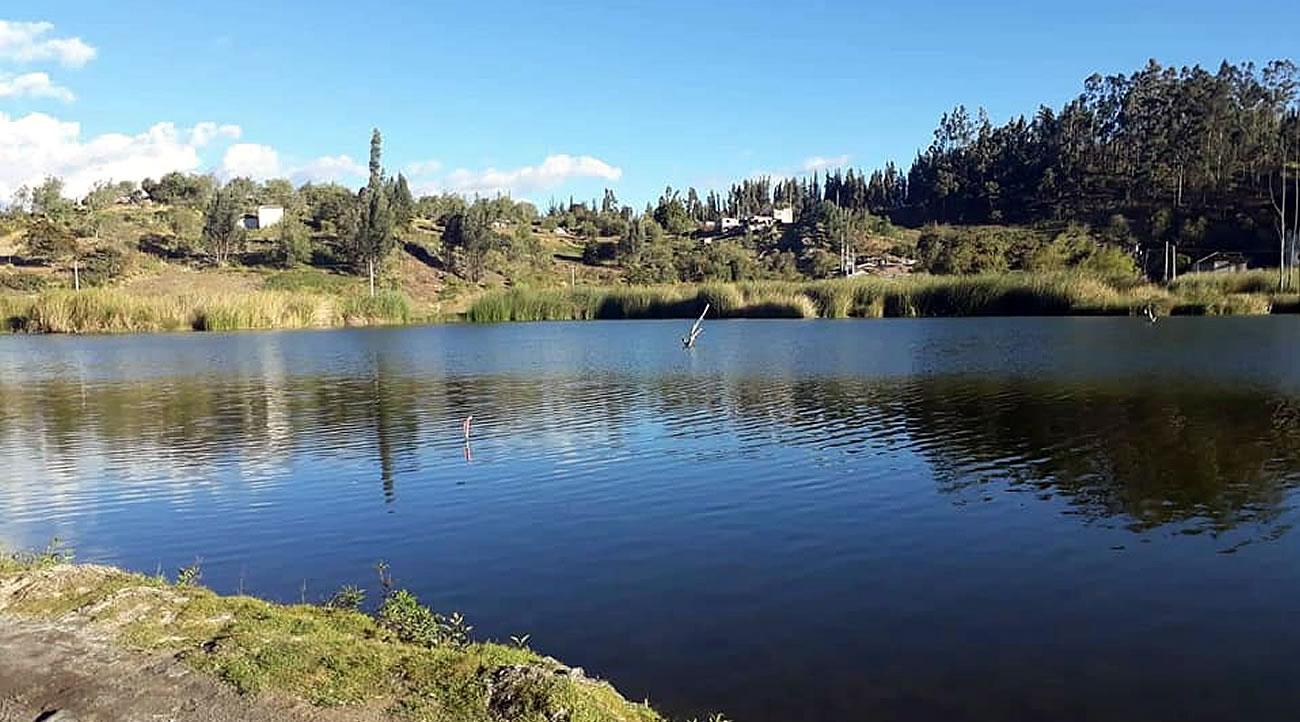 Laguna de Langos en Chimborazo