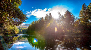 Laguna encantada de Chillacocha