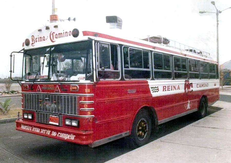 bus interprovincial reina del camino