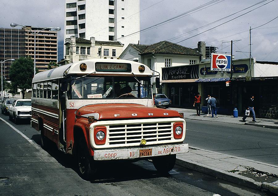 linea de buses 1985