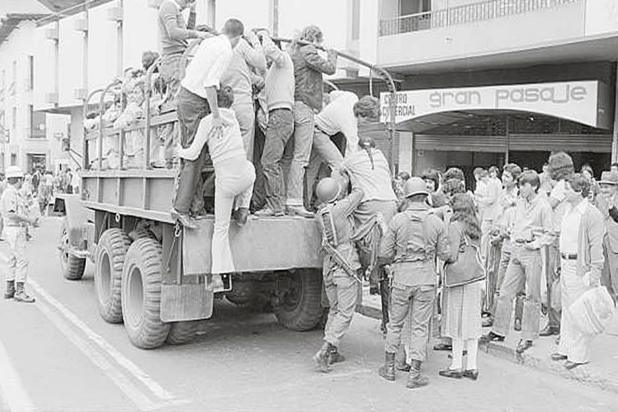 paro de transportistas 1982