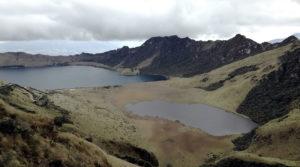 Laguna de mojanda en imbabura