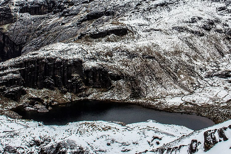 Laguna Mandur en chimborazo